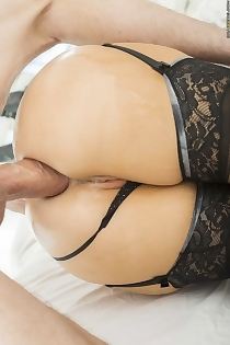 Mrs. Ivory's First Anal