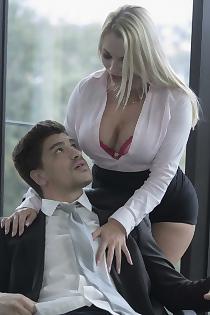 Sexy Secretary Victoria Summers