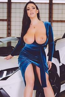 Angela White Strip