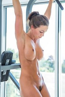Big Tits Babe Abigail Mac