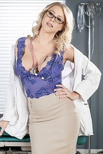 Sexy Doctor Katie Morgan