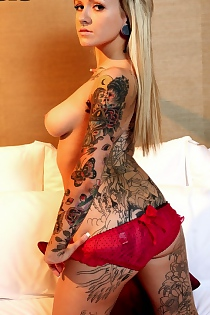Tattooed Blonde Charity