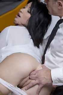 Rina Ellis Gets Fucked In The Office