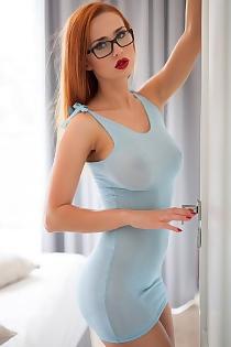 Justyna Blue Dress